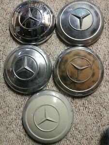 Used Dog Dish Hub Cap for Mercedes 190 220 250 se sl w121 w111 w113 w108
