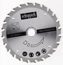 Scheppach HW Sägeblatt 160x20 mm x 2,4 mm Z 24