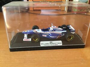 ONYX MODELS WILLIAMS RENAULT FW18 FRENCH GP 1996 1/43 MODEL CAR