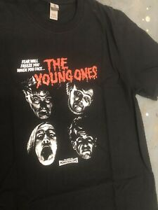 Young Ones - Nasty T-shirt Size M Brand New Never Worn Rik Mayall Bottom