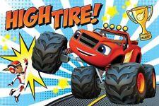 Trefl 24 Piece Maxi Boys Girls Kids Disney Large Pieces Jigsaw Puzzle Styles Hightire Blaze Monster Machines