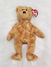 Cashew TY Beanie Baby Soft Gold Tan Teddy Bear Birthday April 22 2000 w Tag dbde8f04f405