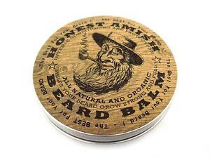Honest Amish Beard Balm - 4 OUNCE TIN - Big - Natural and Organic Conditioner