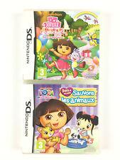 Dora l'exploratrice Joyeux Anniversaire + Et Ses Amis Sauvons Les Animaux Lot DS