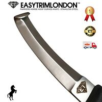 Hoof Knife Farriers Tools Double Edge Knives Horse Hoof Trimming EASYTRIMLONDON
