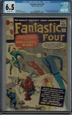 CGC 6.5 FANTASTIC FOUR #20 1ST APPEARANCE OF THE MOLECULE MAN OFF-WHITE PAGES