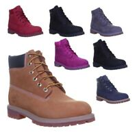 Timberland 6 Inch Premium Junior Ankle Boots Various Colours UK Sizes 3 - 7