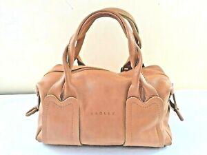 Radley Leather Mustard Handbag