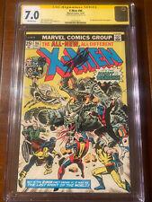 X-MEN #96 12/75 CGC 7.0  SS STAN LEE! FIRST MOIRA MCTAGGERT! NICE COLLECTIBLE!