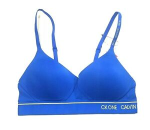 Calvin Klein Women's Lightly Lined Bralette CK ONE NWT