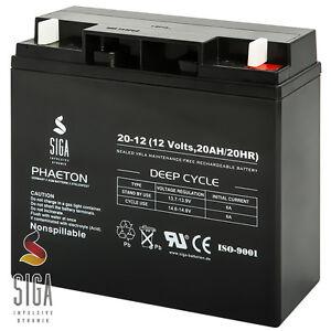 Rasentraktor Aufsitzmäher Batterie 12V 20Ah ersetzt 18Ah Akku John Deere Murray