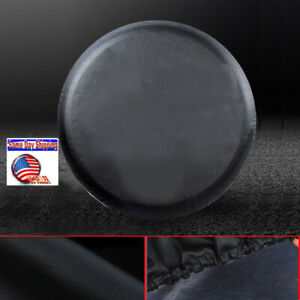 """Heavy Duty Vinyl Spare Tire Cover 30"""" -31"""" For Hummer H3 265/75R16 265/65R18 BLK"""