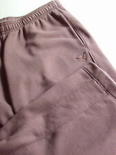 Brushed Fleece PUMA  Athletic  Pants  Brown  XL Elastic waistband  & 3 pockets