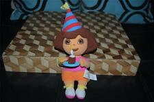 "Dora the Explorer Happy Birthday Plush Stuffed Doll 9"" Cute 2005 Rare HTF"
