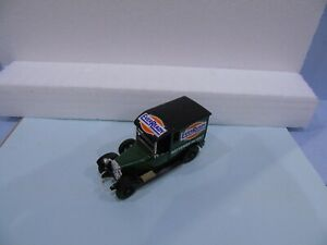 MATCHBOX YESTERYEAR PRE PRO LABEL Y5 GREEN BODY EVER READY TO SIDES & ROOF ETC