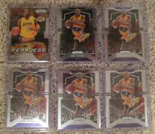LOT of SIX 2019-20 Panini Prizm Kobe Bryant Lakers Basketball Cards Fearless