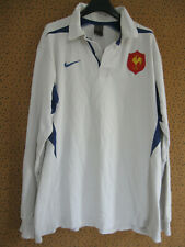 Maillot Rugby Equipe QUINZE de FRANCE Blanc Coton Nike Vintage FFR - XXL
