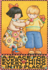 Place For Everything Heart-Handcrafted Valentine Magnet-W/Mary Engelbreit art