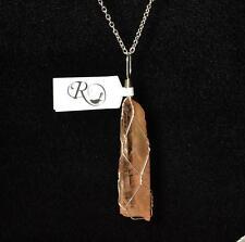 Lemurian Seed Quartz Crystal Pendant Chakra Healing