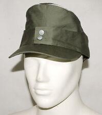 WWII GERMAN WH OFFICER SUMMER PANZER M43 FIELD COTTON CAP L-32172