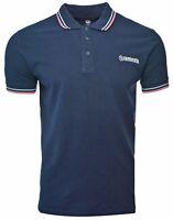 Lambretta Polo Shirt Twin Tipped Collar Mens T-Shirt Cotton SS1608 UK S-4XL