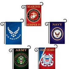 Licensed United States Military & Patriotic Garden Flag - Assorted Branches Usa