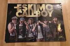 Eskimo Callboy Band Poster mit handsigniertem Autogramm DIN A3