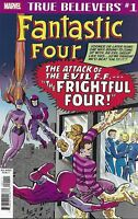 Fantastic Four Comic 1 Frightful Four Classic Reprint 2019 Stan Lee Kirby Marvel