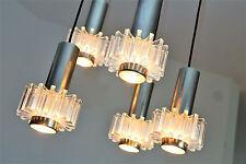 60er 70er lámpara lamp kaskadenlampe cromo plegables Panton era
