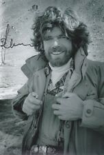 REINHOLD MESSNER 2 Bergsteiger Foto 20x30 signiert IN PERSON Autogramme signed