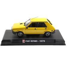 FIAT RITMO 1979 YELLOW AUTOPLUS IXO 1/43 GELB JAUNE GALLIA BOITIER BLISTER