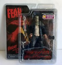 "Cinema of Fear Jason Voorhees PX EXCLUSIVE 7"" Figure NEW Mezco Friday the 13th"