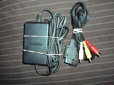 Official OEM Nintendo Gamecube Power Supply AV Video Cable Authentic FREE SHIP!