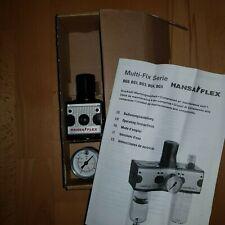 Hansa Flex Riegler  Druckregler multifix BG 1, G 1/4,  max.16bar 0,5-10 bar