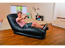 Intex poltrona gonfiabile mega lounge 81x173x91 h - nero