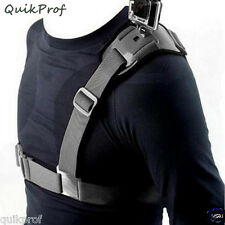 Shoulder Strap Mount Harness for GoPro, GoPro HD, Hero - Action Camera Accessory