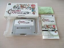 >> CHRONO TRIGGER RPG SQUARE SFC SUPER FAMICOM JAPAN IMPORT COMPLETE IN BOX! <<