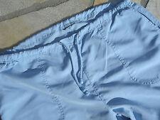 Strandhose Fitnesshose Freizeithose 3/4 Hellblau - Aqua Gr. XL/44/46 Neuwertig