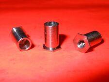 """1//4/"""" Hex x 3/"""" Steel Standoff 6-32 Thread Female//Female NOS C34 QTY 10ea"""