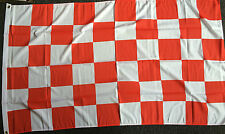 Red/White check flag Liverpool Arsenal Wales Stoke Rugby football Sports  5x3 bn