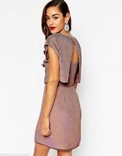 ASOS Patternless Round Neck Party Dresses for Women