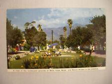 VINTAGE PHOTO POSTCARD THE BELLA VISTA MOTEL IN PASADENA CALIFORNIA UNUSED