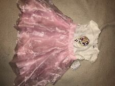 Disney Store Princess Satin Party Dress, Size 7/8