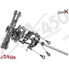 CopterX CX450-01-30 de metal y plástico conjunto de cabeza de rotor principal