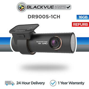 BlackVue DR900S-1CH 4K Front Dash Cam (16GB) Wi-Fi GPS Cloud - Refurbished