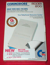 Modem 1200 for the Commodore 64 C64 128 SX-64 Vic-20 Computer NEW SEALED