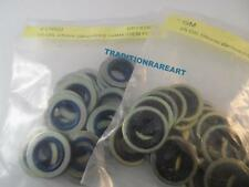 Oil Drain Plug  Metal And Rubber Ford / Gm  Gasket 14mm  / 12mm 25 pc each