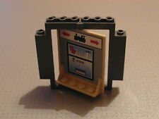 Lego - Revolving Door - Dark Grey and Hogwarts Platform Pattern (40253 30102)