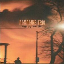 Maybe I'll Catch Fire [PA] by Alkaline Trio (CD, Feb-2000, Asian Man Records)