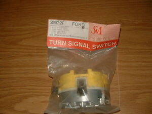 86 87 88 89 90 91 Ford F150 Truck Turn Signal Switch Directional NOS New SHEEMAR